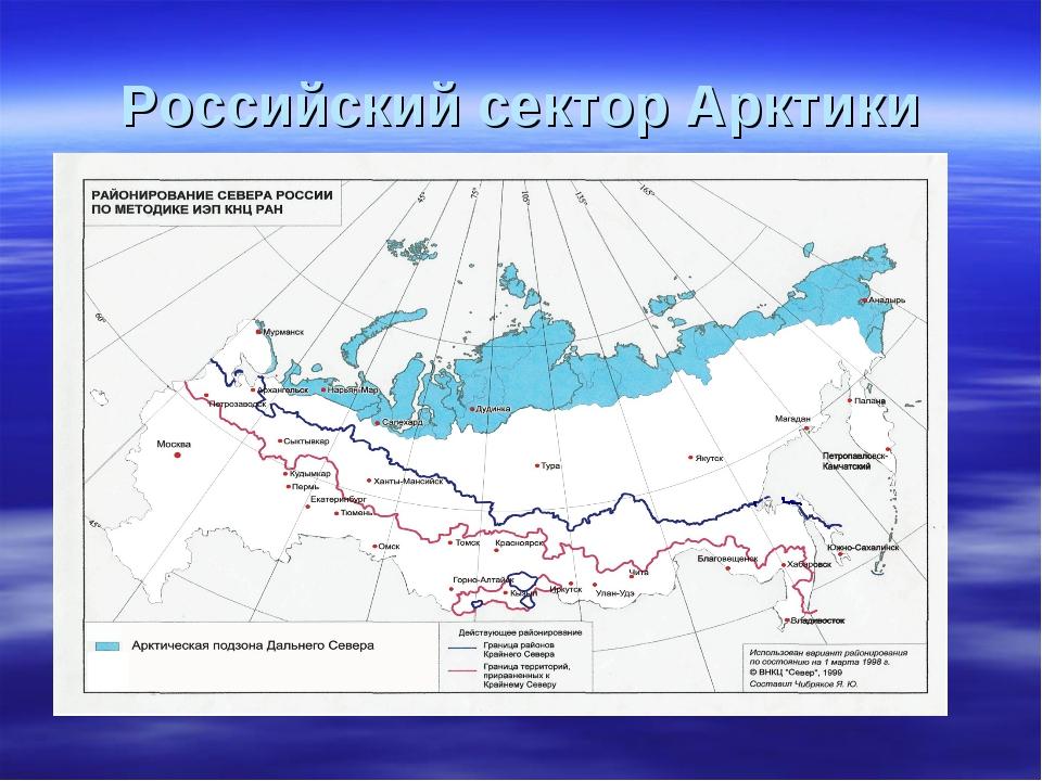 Российский сектор Арктики