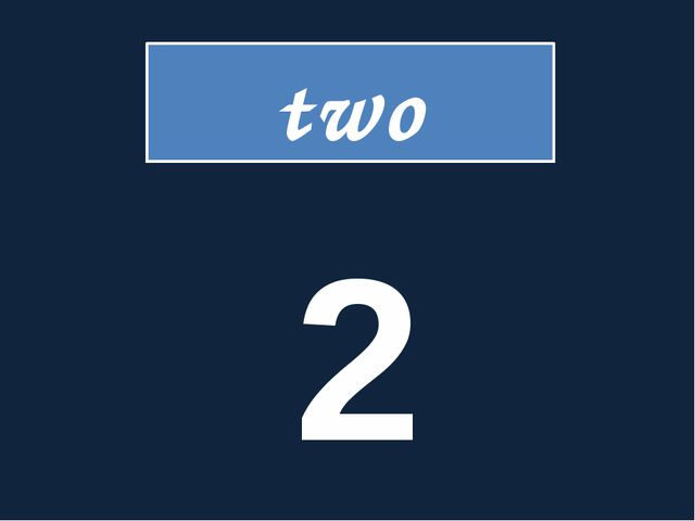 two 2