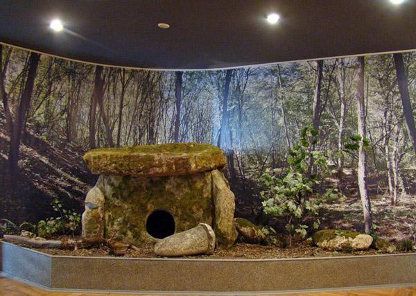 дольмен музей майкоп