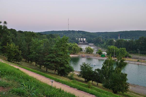 бассейн и ГЭС