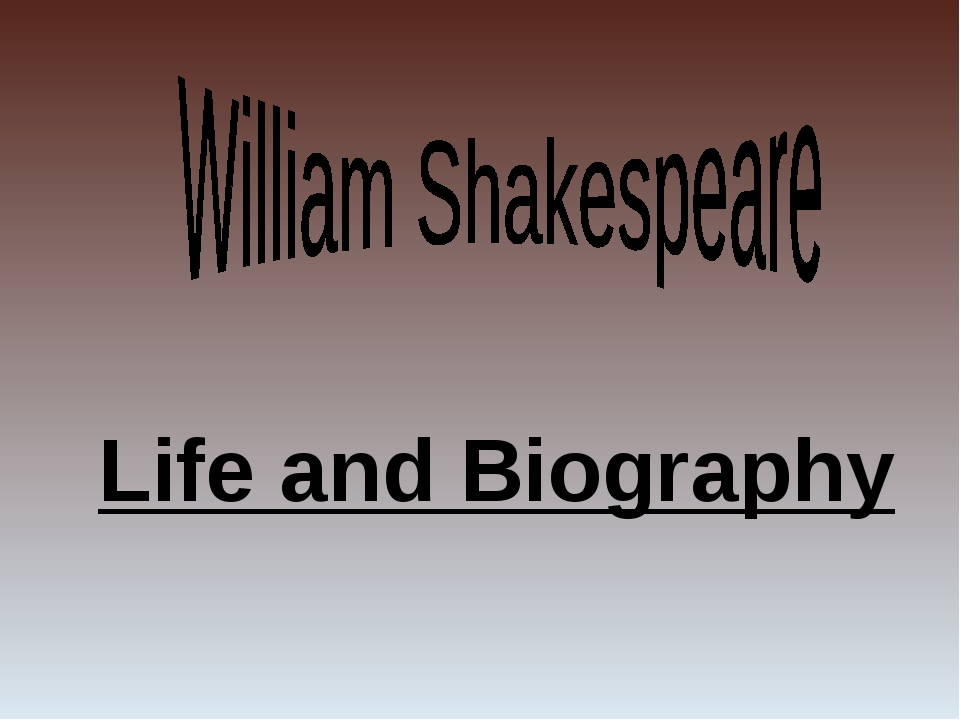 Life and Biography