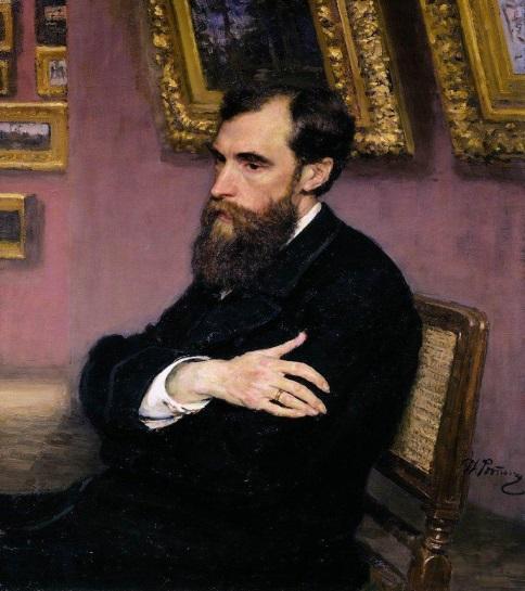 И.Репин Портрет П.М. Третьякова.jpg