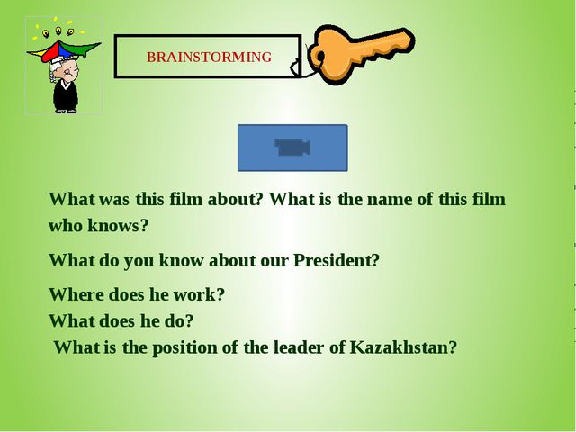 BRAINSTORMING What was this film about? What is the name of this film who kn...