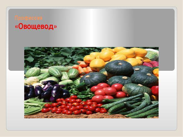 Профессия «Овощевод»