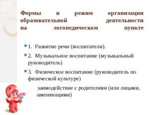 Условия реализации программы материал для коррекции фонетико-фонематической с