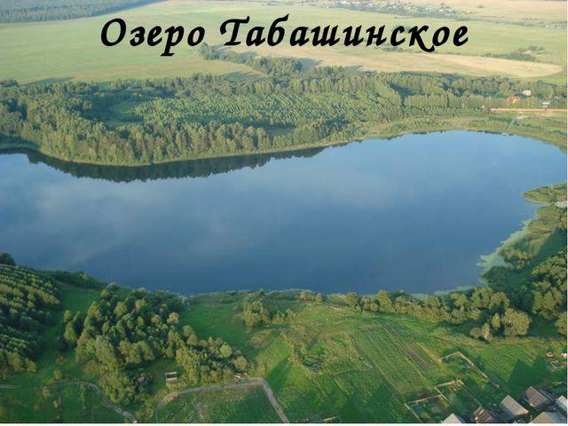Озеро Табашинское
