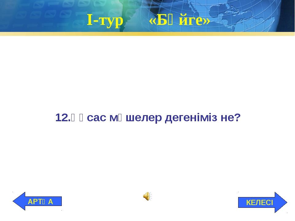І-тур «Бәйге» 12.Ұқсас мүшелер дегеніміз не? КЕЛЕСІ АРТҚА