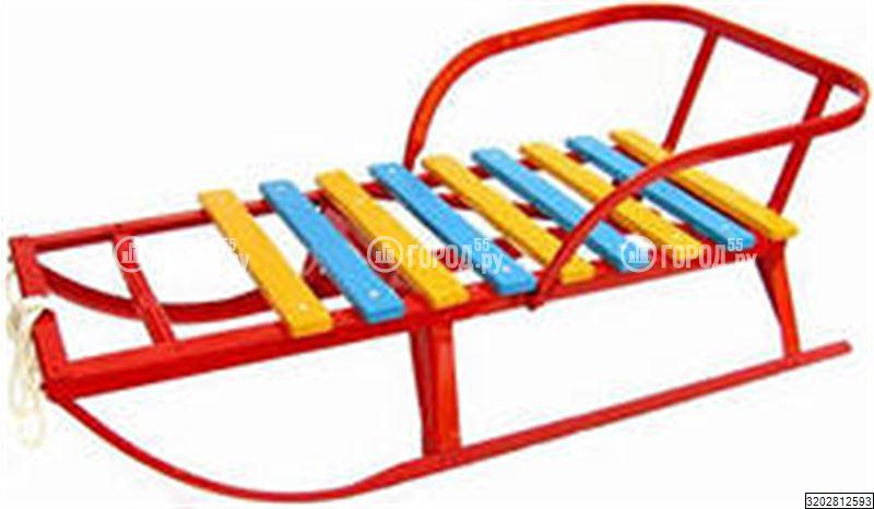 Санки металлические Клинцы цветные (клинские), продажа санок в интернет-магазине товаров для детей Baby-Car