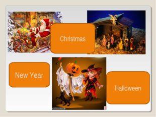 New Year Christmas Halloween