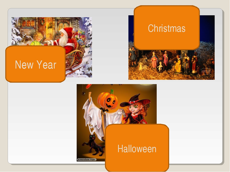 Christmas New Year Halloween