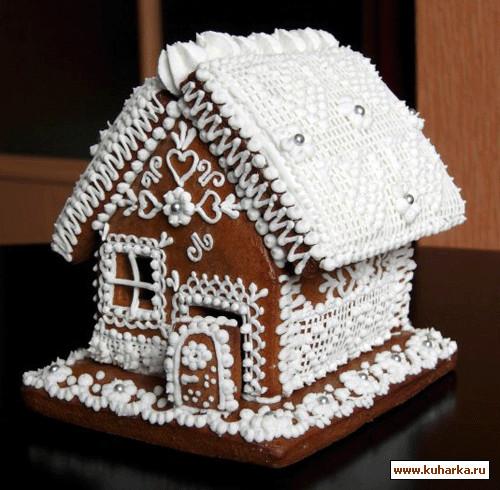 Пряничные домики своими руками мастер класс с фото