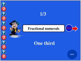 Бес студент Cardinal numerals Five students MENU