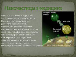 Наночастицы - идеальное средство для доставки лекарств внутрь клетки. Но до с