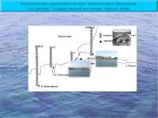 Экологическая характеристика бухт Карантинная и Мартынова (по данным Государс