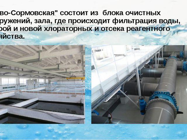 """""""Ново-Сормовская"""" состоит из блока очистных сооружений, зала, где происходит..."""