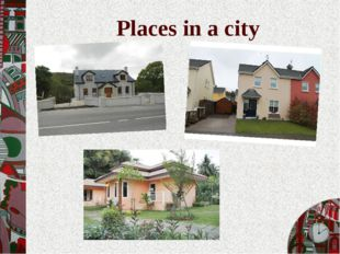 Places in a city