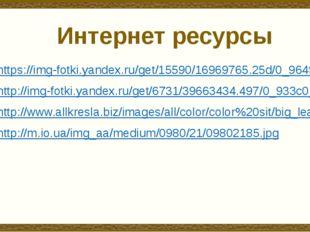Интернет ресурсы https://img-fotki.yandex.ru/get/15590/16969765.25d/0_964f0_6
