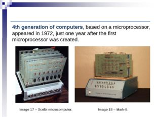 Computer History: Fourth-generation computers Image 17 – Scelbi microcomputer