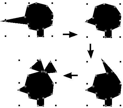 Редактирование многоугольника