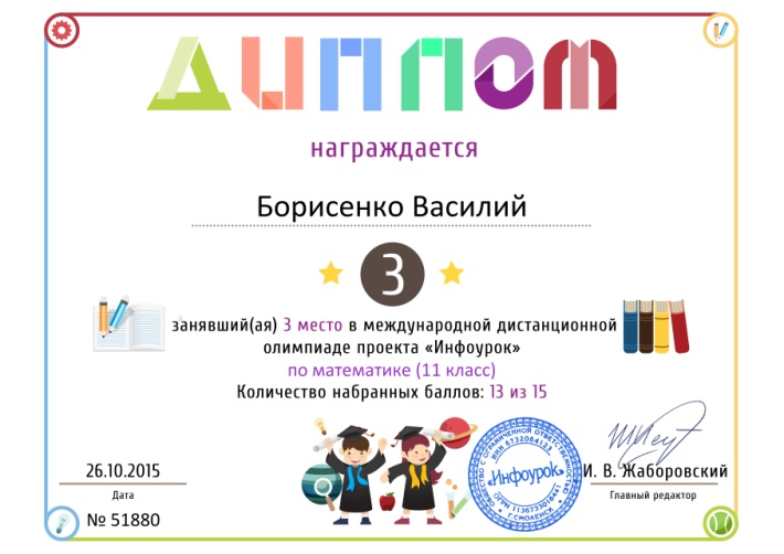C:\Users\user\Desktop\награды\Диплом проекта infourok.ru № 51880.jpg