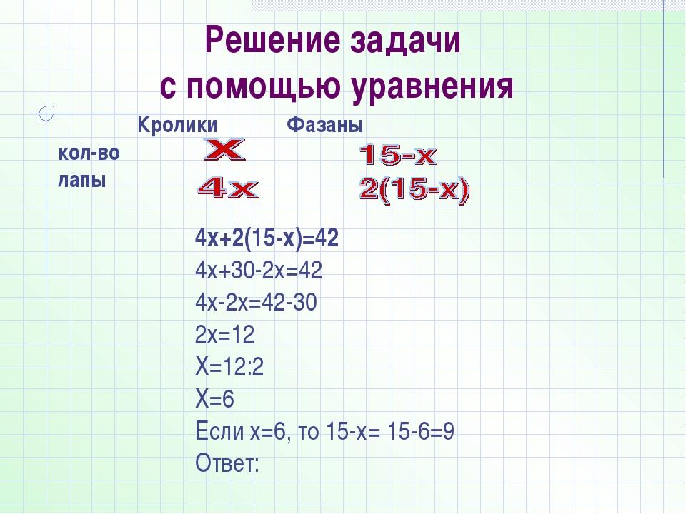 7 класс решение по математике