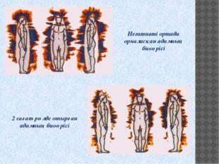 Негативті ортада орналасқан адамның биоөрісі 2 сағат рөлде отырған адамның би