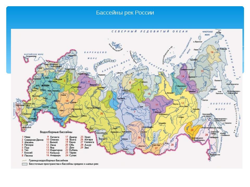 Основные крупные города россии
