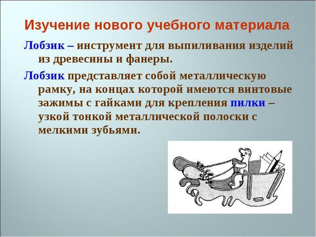 Лобзик – инструмент для выпиливания изделий из древесины и фанеры. Лобзик пре...