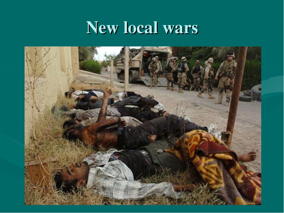 New local wars