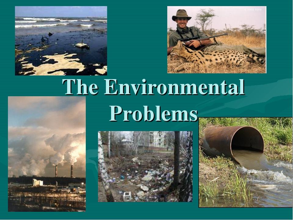 The Environmental Problems