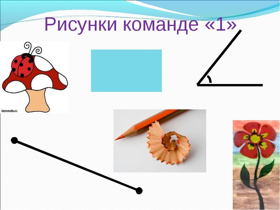 Рисунки команде «1»
