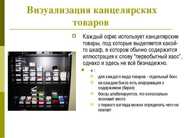 Визуализация канцелярских товаров Каждый офис использует канцелярские товары,...