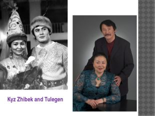 Kyz Zhibek and Tulegen