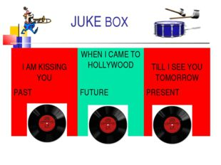 JUKE BOX I AM KISSING YOU	WHEN I CAME TO HOLLYWOOD	 TILL I SEE YOU TOMORROW P