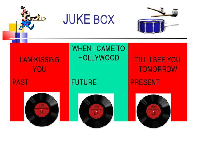 JUKE BOX I AM KISSING YOUWHEN I CAME TO HOLLYWOOD TILL I SEE YOU TOMORROW P...