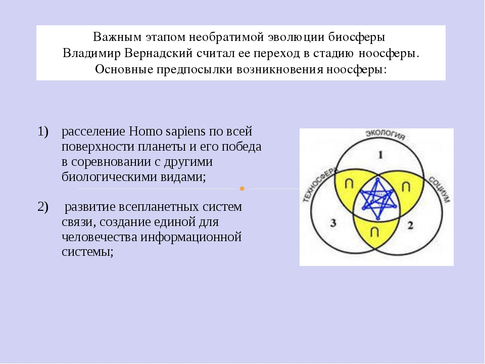Важным этапом необратимой эволюции биосферы Владимир Вернадский считал ее пер...