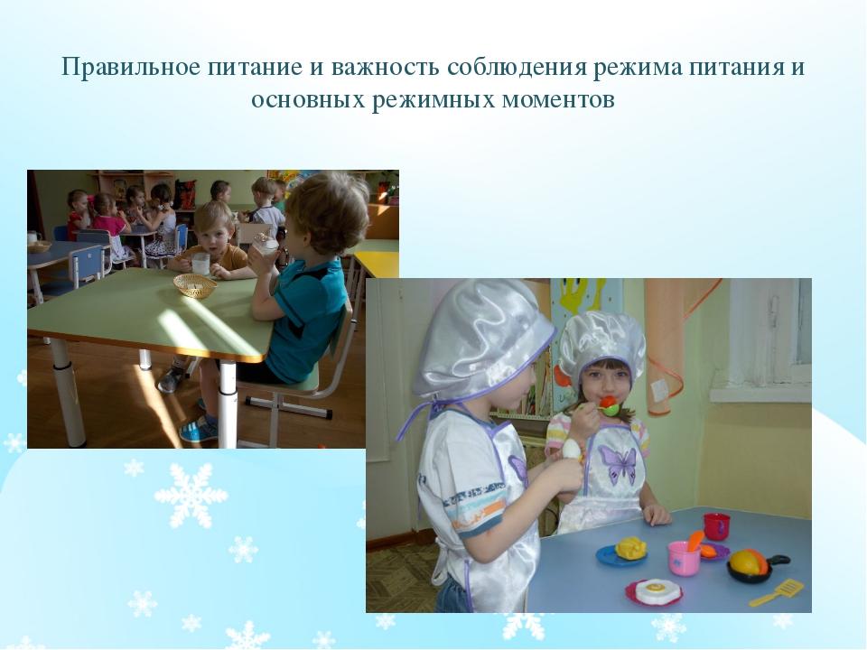 Правильное питание и важность соблюдения режима питания и основных режимных м...
