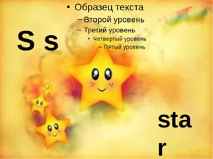 S s star