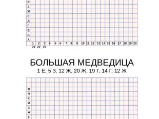 1 2 3 4 5 6 7 8 9 10 11 12 13 14 15 16 17 18 19 20 21 22 23 М Л К И З Ж Е Д Г