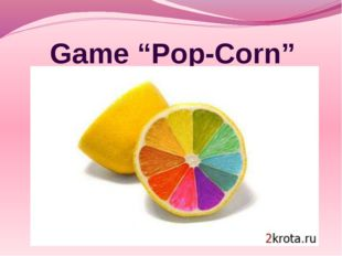 "Game ""Pop-Corn"""