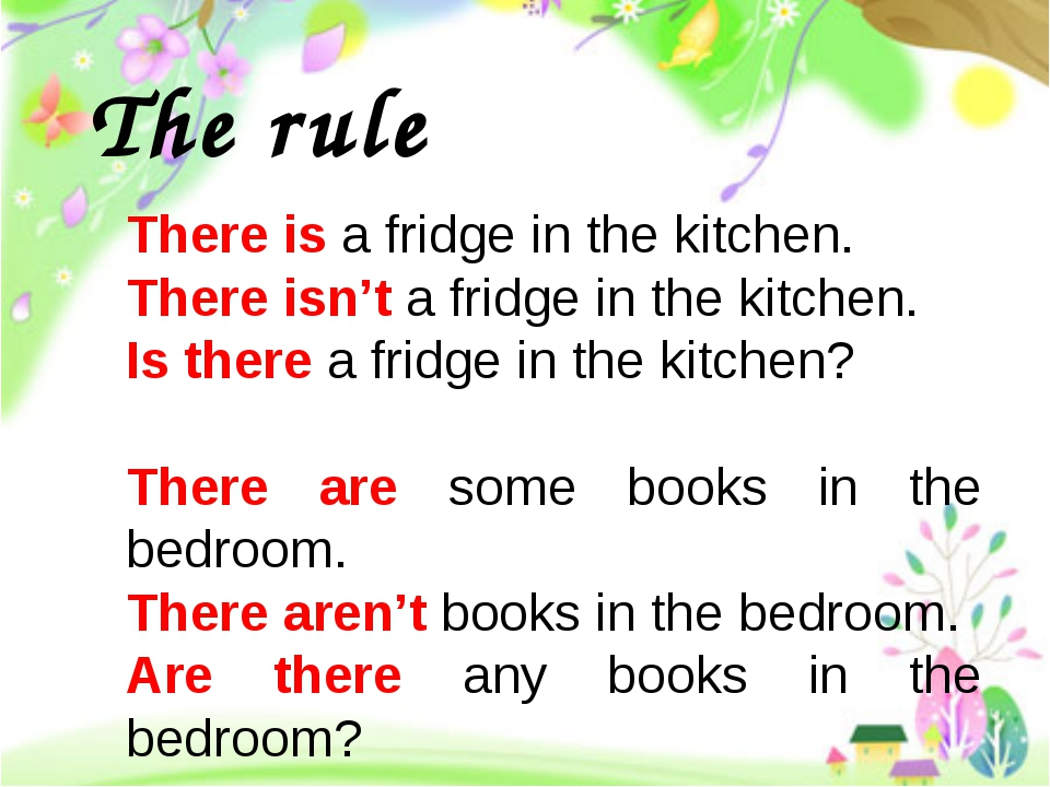 There is a fridge in the kitchen. There isn't a fridge in the kitchen. Is the...