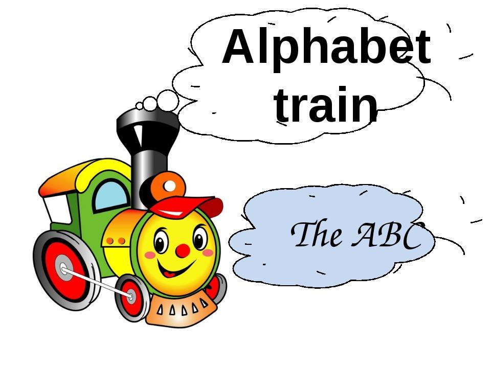Alphabet train The ABC