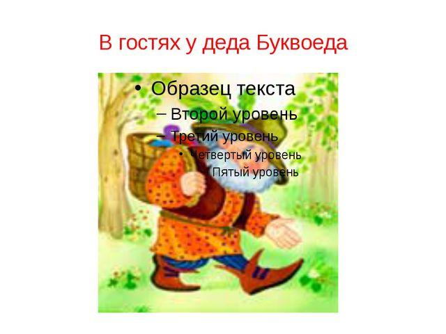 В гостях у деда Буквоеда