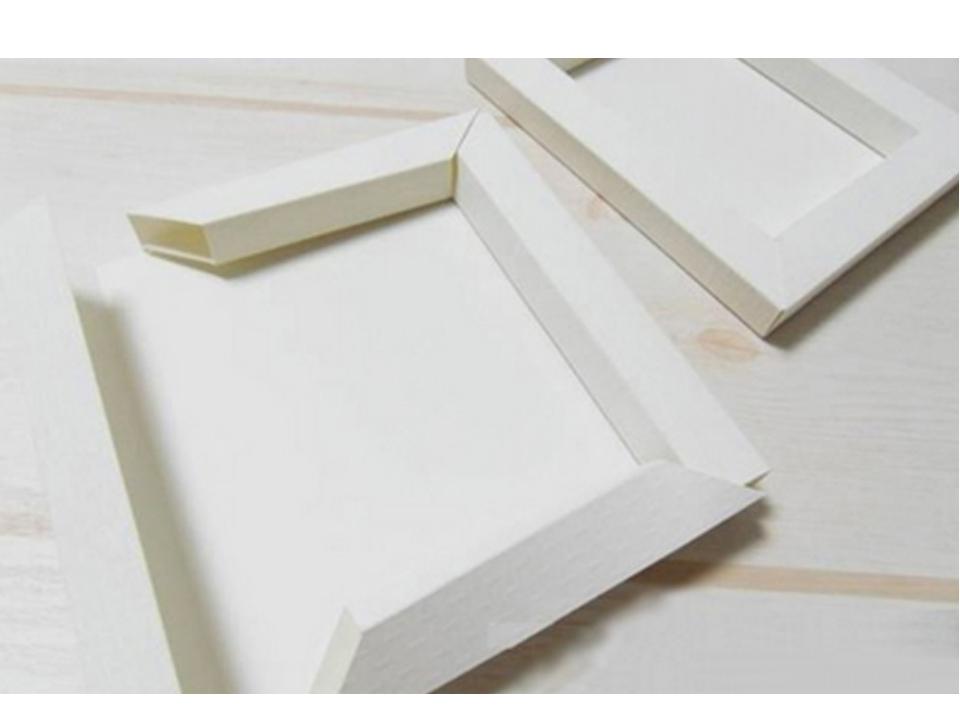 Рамка для а4 из картона своими руками