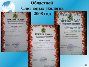 Областной Слет юных экологов 2008 год 32