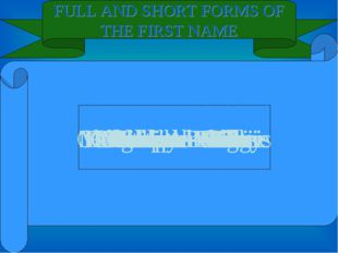 FULL AND SHORT FORMS OF THE FIRST NAME Elisabeth - Liz Stanley - Stan Christo