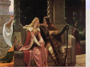 Литература Рыцарская литература: А) эпос: героические подвиги (Песнь о Роланд
