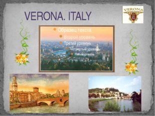 VERONA. ITALY