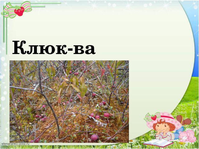 Клюк-ва