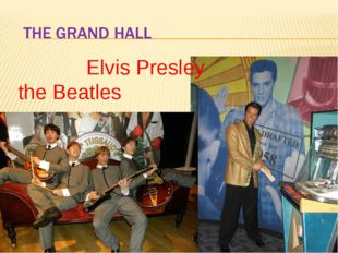 Elvis Presley the Beatles